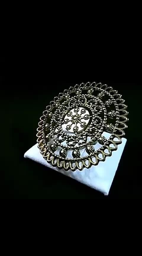 "@tantra_orna_box Swarna Chakras ""Artistically Created Beautifully HandCrafted Rings(Chakras) Oxidised Gold Shade Adjustable Ring !! 💍  To Order WhatsApp@ 9871294007 for prices 💌  Delivery in a complimentary beautiful box !! Follow 👉 @tantra_orna_box #tantra_orna_box 👉👉 Elegant and Classy 😘😘 #kundanjewellery #jewelry #jewelleryaddict #banjara #artificialjewelry #jewelrygram #jewellery #delhiclubs #oxidisedsilverjewellery #oxidizedjewelry #celebrityfashion #streetfashion #fashionblogsindia #lifestyleblogger #bollywoodjewelry #oxidisedearrings #indianfashionblogger #banjaran #indianfashion #handmadejewelry #jewels #indianjewellery #bohochic #statementjewelry #bollywoodfashion #bohostyle #indianfashionblog #bohofashion #ringsofinstagram"