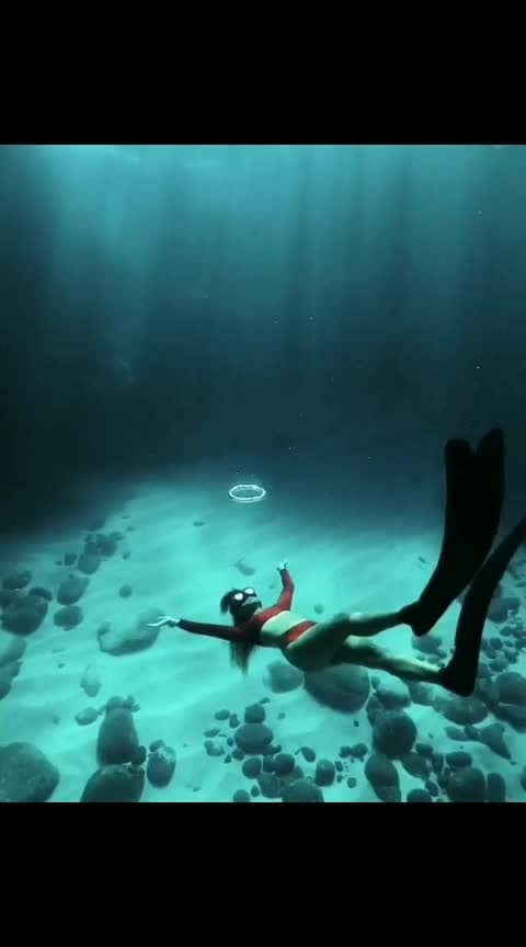 scubadiving#sea#blue-lover #blueblue#water-is-life #roposo-creative