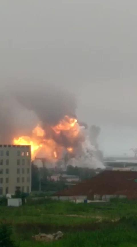 जोधपुर में धमाका गैस सिलेंडर से आग #news #roposo-wow #ajab-gajab #dangerous______ #trendingonroposo