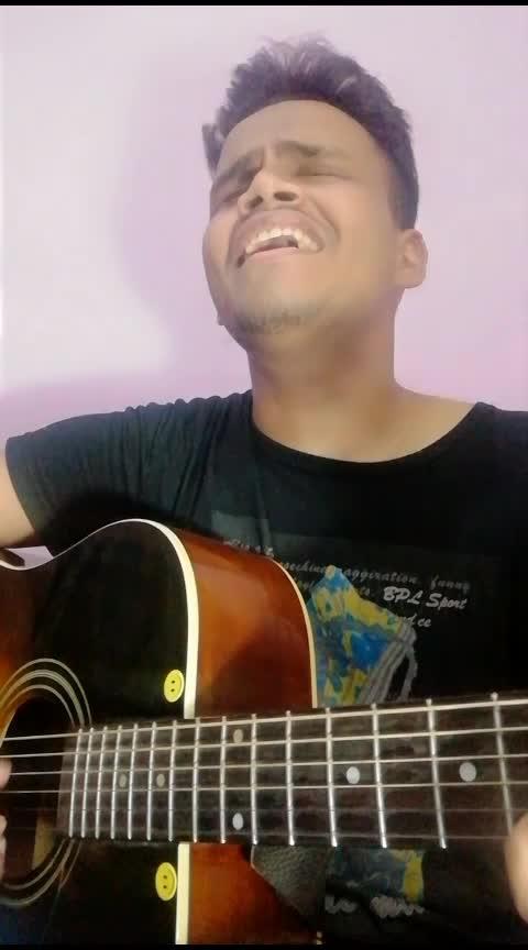 Sanson ki mala acoustic rendition Faizan khan #rops-star #ropo #ro-po-so #roposoers #roposo #roposo-peoples