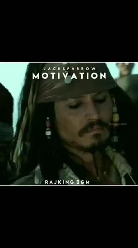 #roposo-morning #morningmotivation #morninginspiration #jacksparrow #jack