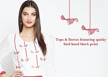 Featuring bird print!  https://9rasa.com/collections/bird-print  #9rasa #colors #studiorasa #ethnicwear #ethniclook #fusionfashion #online #fashion #like #comment #share #followus #like4like #likeforcomment #like4comment #newarrivals #ss19collection #ss19 #bird #blockprint #birdprint