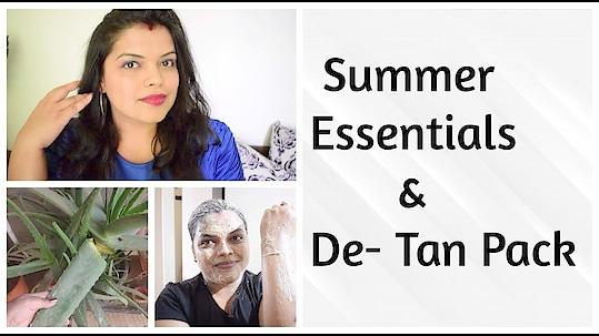 Summer Essential 2019 | De-Tan Face Pack - Preeti Pranav