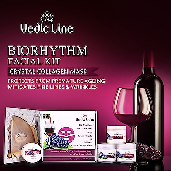 Why to live with #wrinkles when you are young at heart! ♥️♥️ Try Vedicline's #BioRhythmFacialKit with the goodness of Grape🍇🍇 seeds and look as amazing as your heart is. ♥️♥️  Buy Now: 👉 https://lnkd.in/fj-shvE  💟Benefits💟  🥀 Reduces wrinkles and fine lines 🥀 Improves elasticity of the skin. 🥀 Provides younger looking skin. 🥀 Good for Mature & 30+ Skin.  #FacialKits #BestFacialKit #BioRhythmFacial #NaturalFacial #AyurvedicFacial #SkinCare #SkinMaster #NaturalFacial #FacialTreatment #EssentialAyurveda #AyurvedicProducts #BeautyProducts #CosmeticProducts #NaturalCare #NaturalSkinCare #NaturalIngredients #Glow #skincareregime #affordable #skin #ayurveda #pollution #glowingskin #skincareproducts #beautycare #naturalbeauty #skincareblogger #skinhealth #ayurvedictreatment