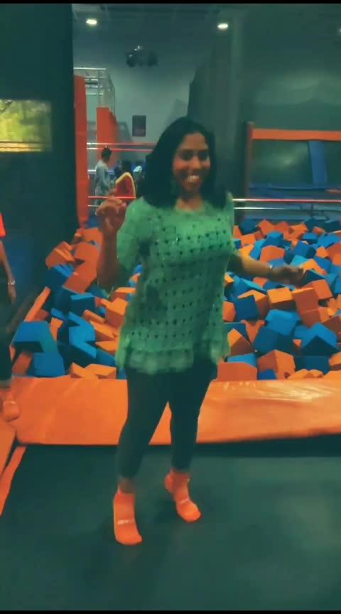 jump higher #afterglow #jumping #slowmotion #airjump #girlfun