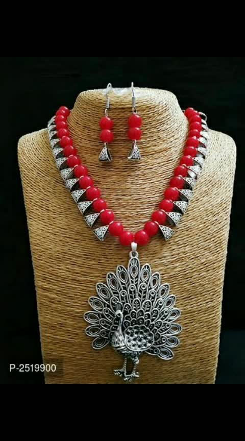 #Peacock Alloy Jewellery Sets#Sameera Desginers...#shadi week spl 😍😍😍😍.....!!!  *Material*: Alloy  *Free shipping & Easy Returns*... cod available  *Delivery*: Within 6-8 business days   Price:323/-  https://myshopprime.com/collections/27887126