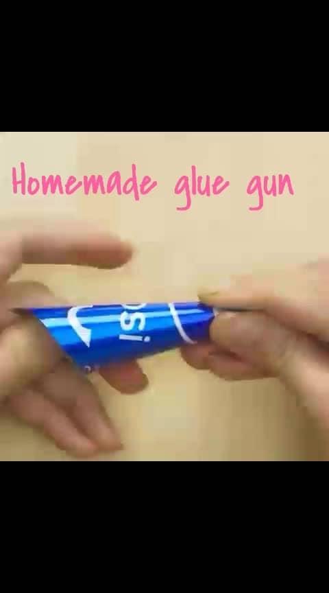 #roposocreativeart#homemade#gluegun....