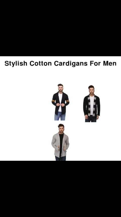 Stylish Cotton Cardigan For Men - - #fashion #style #stylish #love #photography #instapic #me #cute #photooftheday #nails #hair #beauty #beautiful #instagood #pretty #swag #pink #girl #eyes #design #model #dress #shoes #heels #styles #outfit #purse #jewelry #shopping