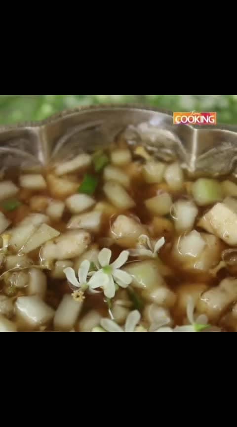 #Ugadi Pachadi#ugadi #ugadipachadi #pachadi #telugunewyear #newyear #jaggery #neemflower #rawmango #salt #tamarind #recipes #food #instafood #instafoodie #instagood #yummy #eat #kitchen Ingredients Tamarind Water  Jaggery  Green chili  Raw Mango  Salt  Neem Flower  Banana (optional)  Method: 1. Soak the tamarind in warm water.  2. Ugadi pachadi is the mixture of six tastes, Tangy, Sweet, Spicy, Sour, Salt & Bitter. 3. In bowl mix Tamarind water for Tanginess, Jaggery for Sweetness, Green chili for Spiceness,  Raw Mango for Sourness, Salt for Saltiness, Neem Flower for Biterness and Banana (optional). 4. Ugadi pachadi is ready.