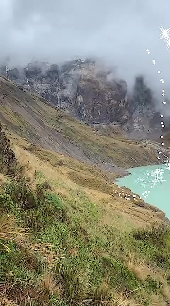 💙💙 #lake #mountains #scenery #travel-diaries #wow #roposo-wow
