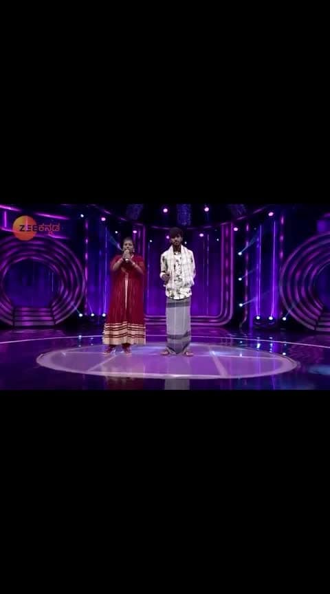 sa ri GA MA pa  show Hanumanth super singing  #sarigamapa15 #kannadasongs #roposo-kannada #kannadabeatz