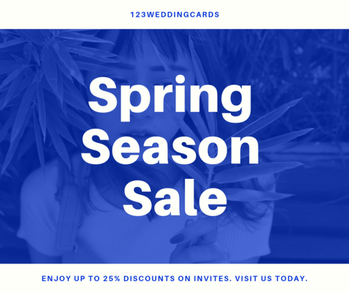 Spring Collection Sale 2019, Get Up to 25% off on Online Wedding Cards | 123WeddingCards  Read Now: https://www.123weddingcards.com/blog/spring-collection-sale-2019-get-up-to-25-off-on-online-wedding-cards-123weddingcards/  #offersonweddingstationery #specialoffersonweddingcards #springcollectionsale2019 #springoffersweddinginvitationoffers