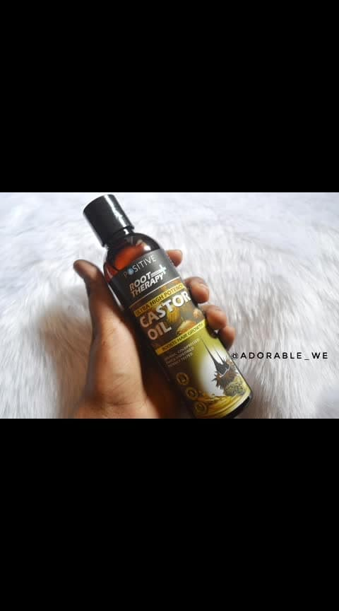 Castor Oil is essential for healthy growth of hair...! reviewing today Castor oil from @positiveglobal  Price, Qantity and Availability- Worth Rs 500 for is available online. ( you can avail great discount  when you purchase online)  This Castor oil is :- 1. Pure and unrefined 2. Potency tested 3. Organic and coldpressed 4. Peomotes hair growth 5. Reduce hair thinning  The oil comes in this bottle packaging which opens on pressing.  Extra - the brand also provides you with a pump dispenser so you can use the pump.  Impressions - 1. There is a good amount of discount on the product if you buy online so its affordable. 2. The packaging is good with added advantage of pump dispenser. 3  The quality of this castor oil is very good, pure and will definately help to increase hair growth  #adorablewe #hairgrowth #positivereview #castoroil # promoteshairgrowth #reducehairfall #reducehairthinning #beautifullhair #haircare #wwtchdiz