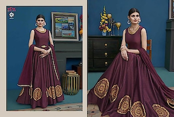MAHIKAA COLLECTIONS LAUNCHES online selling of WOMEN FABRICS. BUY DIRECTLY FROM US USING PAYTM / BANK TRANSFER CONNECT WITH US AT info@mahikaa.in or WhatsApp : 7984456745.  SUITS BY VIPUL BRAND  SILK GOWN STYLE SUITS DELICATE EMBROIDERY  #clothing #fashion #style #clothes #streetwear #tshirt #art #apparel #fashionblogger #love #ootd #clothingbrand #model #streetstyle #brand #like #outfit #design #photography #shoes #instagood #follow #shopping #hiphop #clothingline #fashionista #music #dress