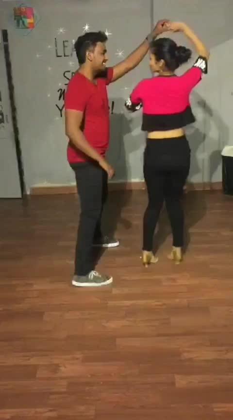 Salsa with Michael #aakritigautam #bellydancer #latindance #salsa #danceforlife