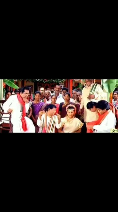 neeku kavalisindhi pelli anthe kadha 😄😄 #chennakesavareddy #chennakesava_reddy #brahmi #brahmicomedy #brahmanandam #brahmanandamcomedy #brahmanandam_comedy #bramhi #msnarayana #msnarayanacomedy #ali #alicomedy