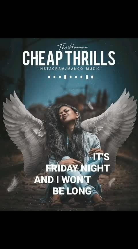 #cheapthrills #sia #favoriteone #always