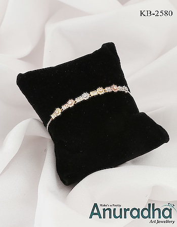 Buy something different for yourself in the form of this rose gold colour designer bracelet from the stock of Anuradha Art Jewellery. Get more designs on this link: https://bit.ly/2GCrGZq #koreanbraelet  #rosegoldbracelet  #goldenbracelet #jewelry  #jewellery  #onlinebracelet  #braceletdesign  #newbracelet  #womensfashion  #highjewelry