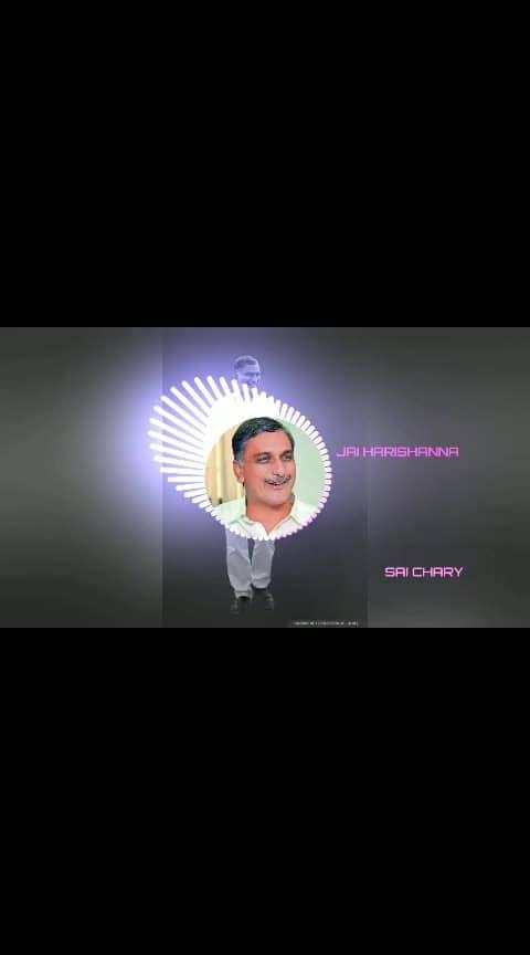 #siddipet #harishrao #theleader #sairangu