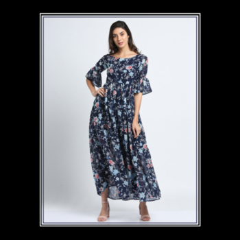 Mondays: The only day you can wear the same exact outfit as yesterday without anyone knowing.😉 #bluefloralbellsleevesmaxidress . . . . #trendarrest #trending #trendy #womens #western #wear #blue #colour #floral #maxidress #partywear #bellsleeves #fashion #fashionista #fashionmodel #fashionworld #fashionnova #clothing #brand #onlinestore #instalikes #instafollows #models #mondaymotivation #postoftheday