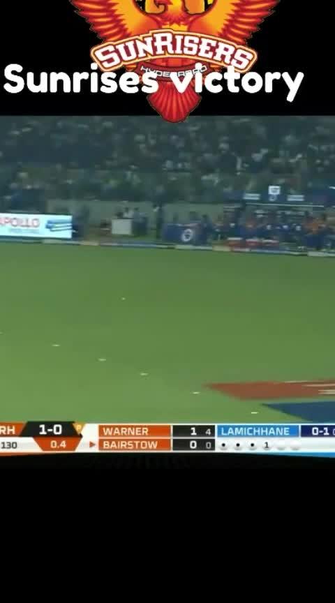 #sunrisers #Hyderabad #victory