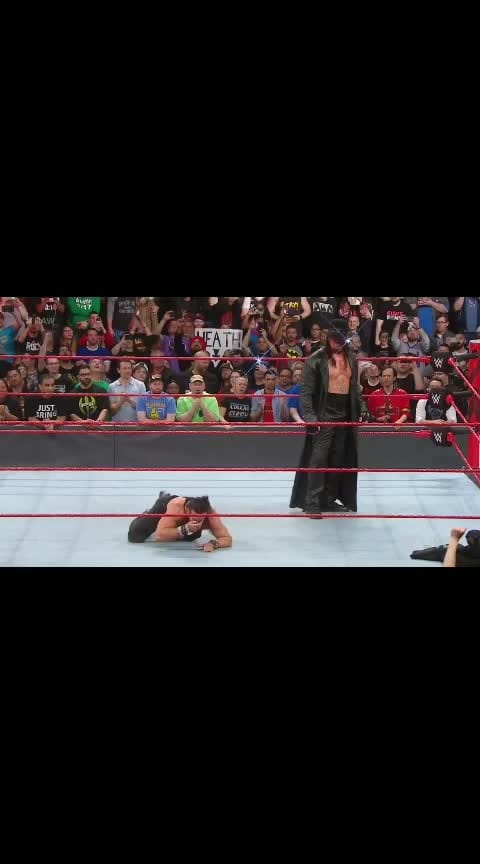 #undertaker #roposo-challenge-wwe #wwe