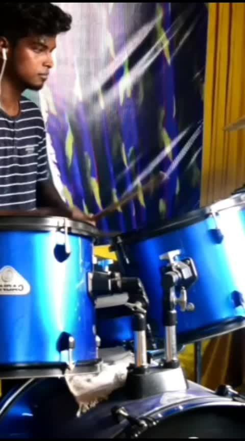 #natpey_thunai #kerala #song #drumming #love #roposo #roposo-on-music