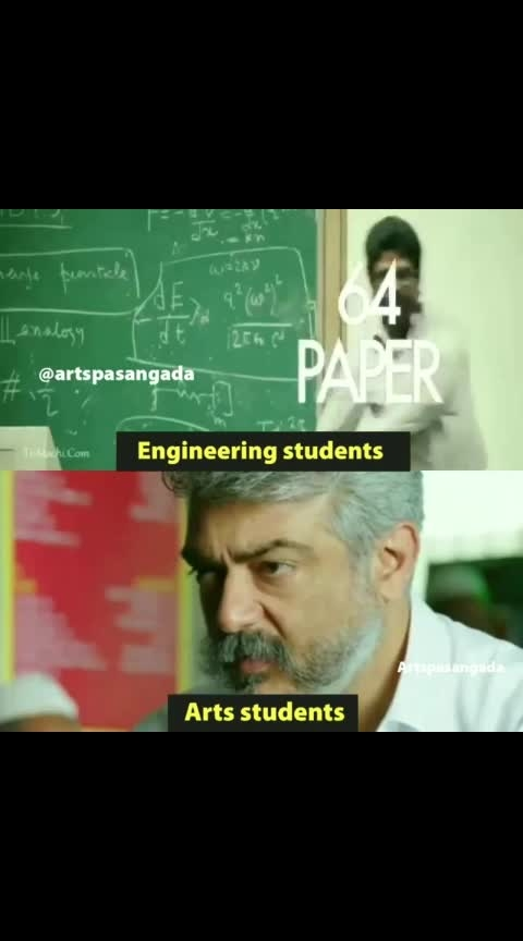 #thala #thala-ajith #thalada #hiphoptamizha #engneering #engneerlife #artstudent #artsstudents