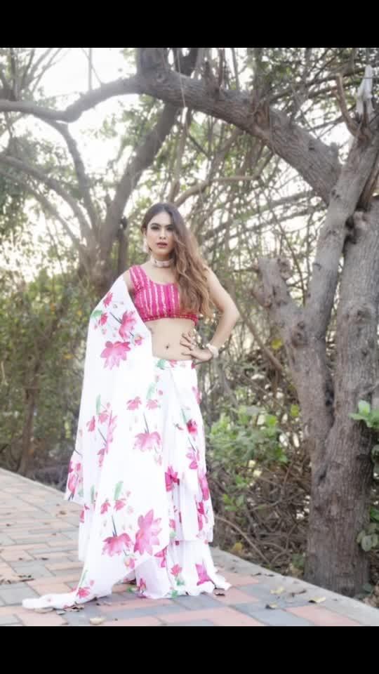 Summer special 🌸🌸 Floral Ruffle Saree Shoot ... 🌸🌸🌸 : Outfit by @ritikaaroracouture Photography @ilmanaazphotography1 📸 Makeup hair by @nexlookbyneha.raj  Jewellery - @theofficialdoro  Stylist- @khushikarwa54 : : #rufflesaree #floralsaree #summersaree #summervibes #summerstyle #punjabikudi #punjabisuit #punjabilook #photoshoot #designerdresses #shootdiaries #sakhiyaan #sakhiyaangirl #desilook #indianbeauty  #meriwalisardarni #punjabigirl #punjabiactress #pollywood #filmy #bollywood #moodgram #nehamalik #model #actor #blogger #instagood