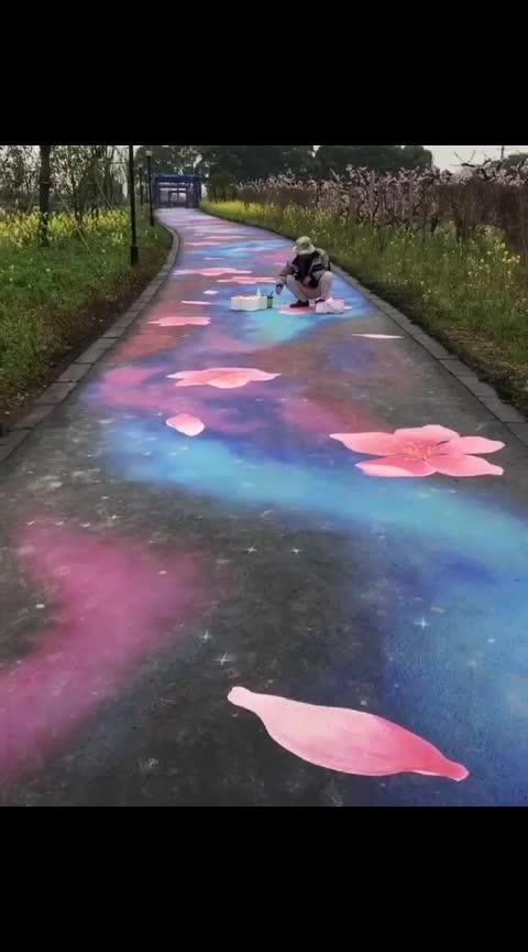 💕💓💞💕❤🌹#Flower road