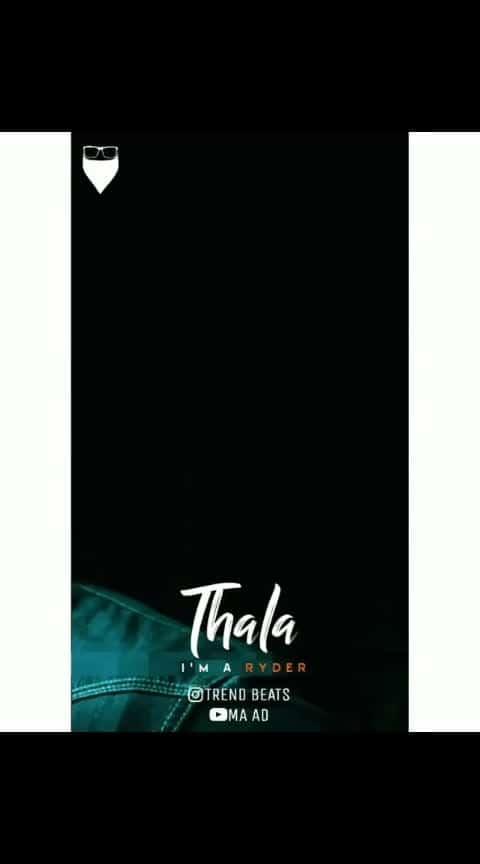 #thala-ajith #thalaiva #firstroposopost #firstmystory #first_love-tha-best-love #ropo-ropo #roposotamil #ajithfans #roposo-tamil #thalada #love-status-roposo-beats