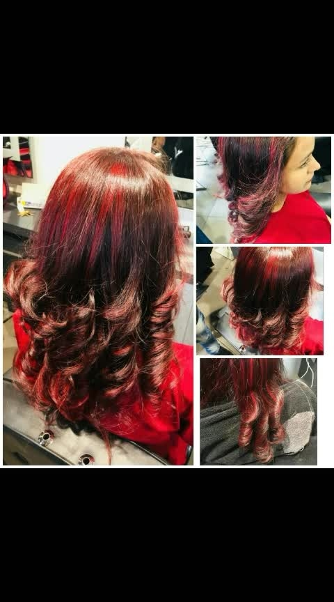 #hair #haircolour #hair-style #hairjobs #haircare @roposocontests @roposobusiness #ropo #roposohair #roposo-wow 🔥😍