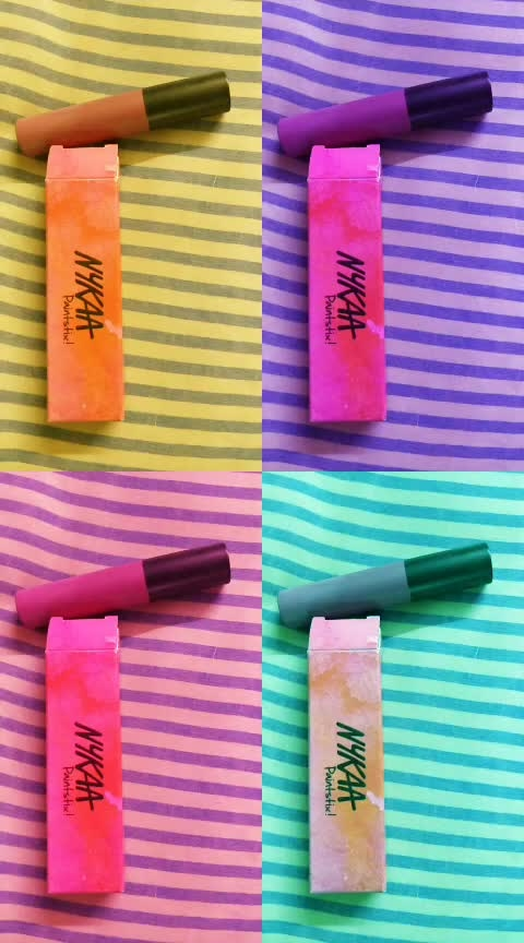 NYKAA Paintsticks !! Yes, I am here after a long time! Missed Roposo! #ropo-beauty #nykaabeauty #love #lipstick #welcomeback #self-love #pamperyourself