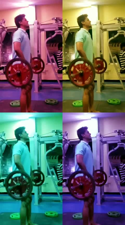 UPRIGHT BARBELL ROW 🏋♀ #shoulder #shoulderworkout #fitness #fitnessgoal #fitnessindia #gainweight #humfittohindiafit  @roposocontests