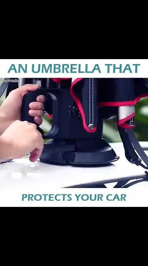 #umbrella #car #makeup tool