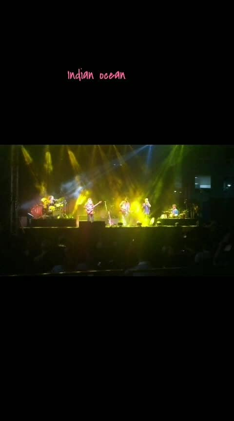 Finally Indian Ocean - check! #indianocean #rock #fusion_music#rahulram