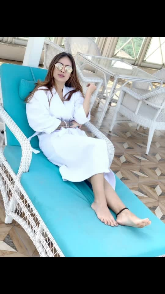 Pool time ... happytimes in Chandigarh 😍😍 : #pooltime #swimmingpool #punjab #chandigarh #chandigarhdiaries #ramadaplaza #bathrobe #bathrobeswag #white #whitelove #randomvideo #randomclicks #ramadaplazachandigarh #swag #swagger #luxurylifestyle #nehamalik #model #actor #blogger #instafollow #instagood #instalike