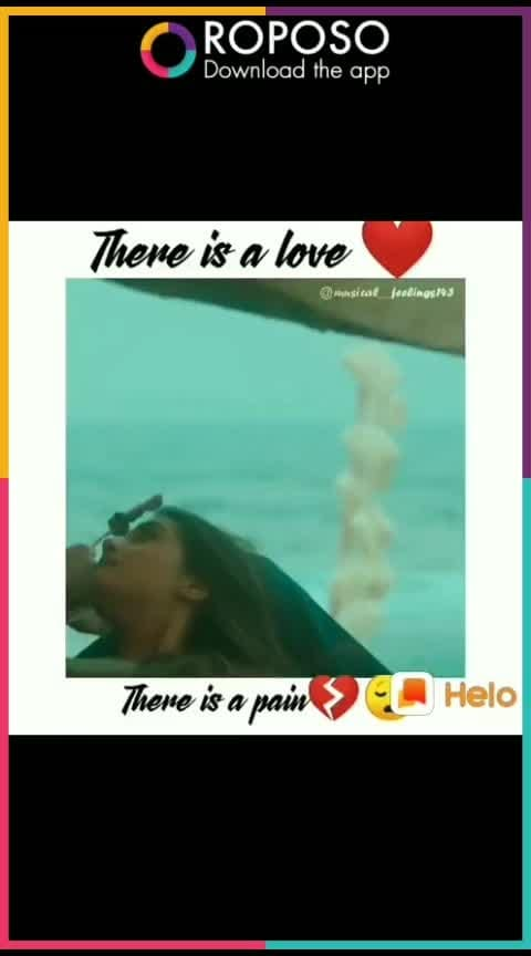 #There is no lov- 💜 without pain 💔__#s.....! #roposolovers ##watchfilimistaan #bestlover s