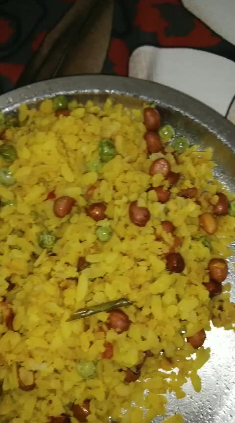 Poha ❤ #hungrytv #hungryalways #hungry #roposostarchannel #roposo-food