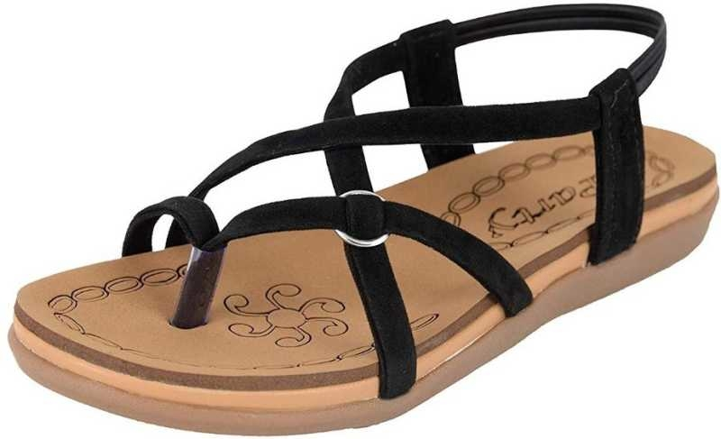 Women Black Flats  499  Give your feet a new look and comfortable feel by wearing this sandal from the house of perfect step.This product is made from synthetic material and is finished in an attractive color. It features pvc sole,and are designed to be used as casual wear footwear.   Click here to buy :-https://bit.ly/2USvi0h  # Black Flats