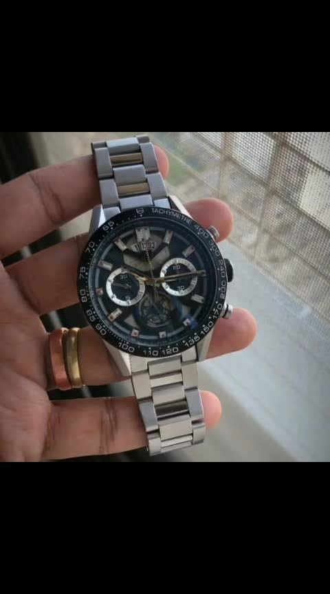 😍 The quality you see, is what we sell. 😍  ✅ *This strategy has been deployed over the entire collection when TAG introduced the Carrera Heuer 01, a modular, large and bold piece for professionals.* ✅  🌟 Tag Heuer Carrera Chronograph with Skeleton Machine in Premium Segment Collection Available & Ready to ship today 🌟  # Tag Heuer # For Men # 7AA Premium Collection # Carrera Chronograph Skeleton # Dial Size 45mm # Feature-Working chronograph, date Indicator, 30 seconds stop watch for swim lap, 30 mins to run, and a stop watch to reset, rust free stainless steel body, And all operational *Uncomparable Original Japanese Chronograph Machinery* 😍  ✨ New model with price updated & *Free Tag Heuer Premium Hard Case Leather brand box* ✨  Available @ Rs 3900+Ship