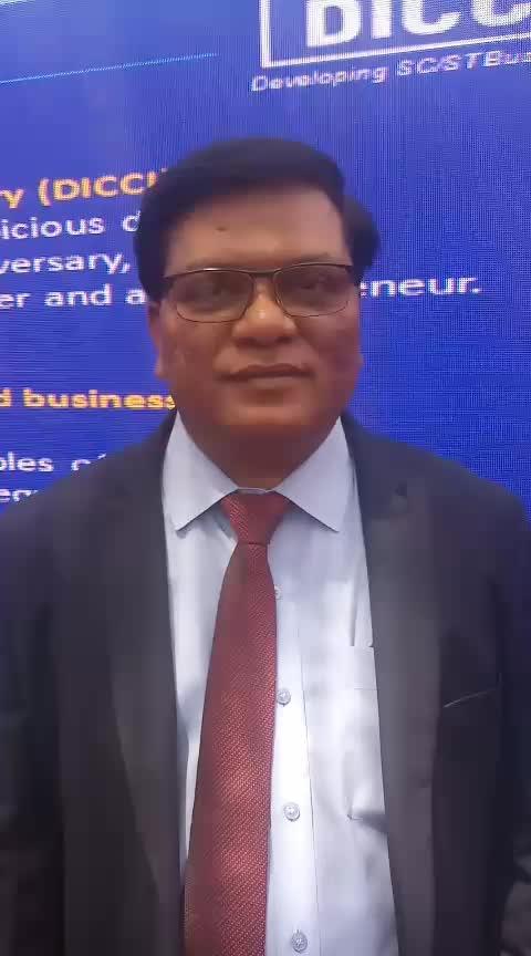Dr. Milind Kamble, Chairman, DICCI on Babasaheb Ambedkar Jayanti  #babasahebambedkar