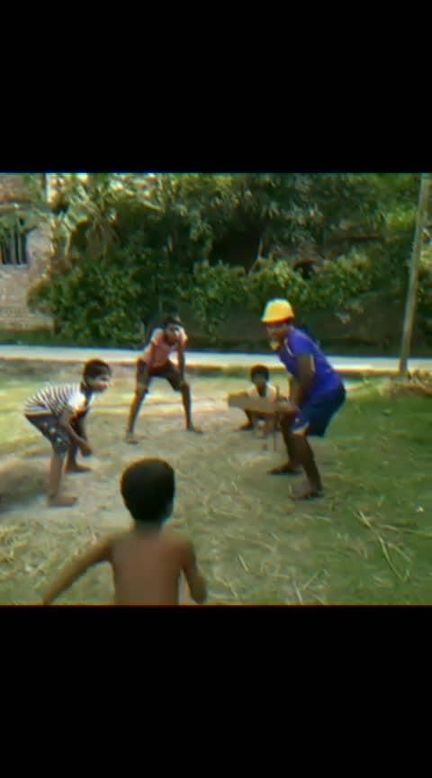 Mil gayi wicket .... #cricket #criket #game #boobs-game #roposo-hahaha #fantastic #super #six