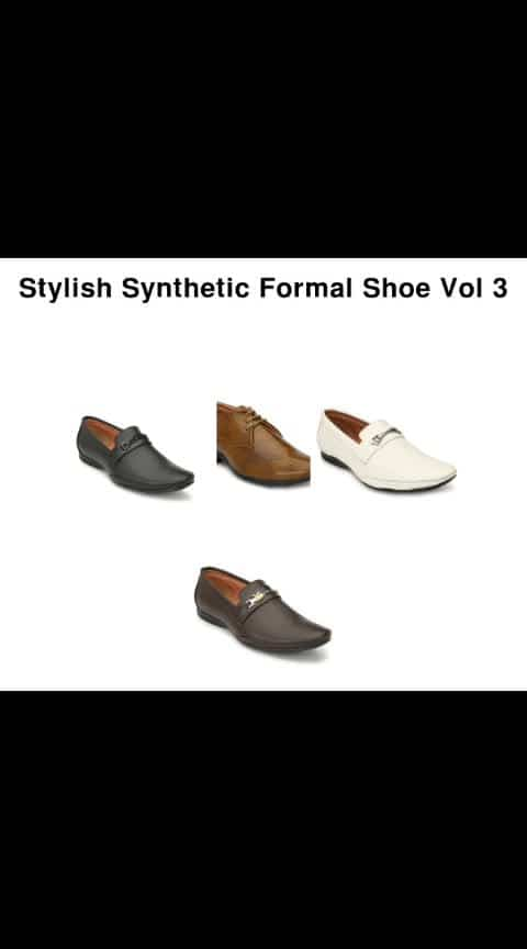Stylish Synthetic Formal Shoe - - #fashion #swag #style #stylish #photography #instapic #me #swagger #photooftheday #jacket #hair #pants #shirt #handsome #cool #polo #swagg #guy #boy #boys #man #model #tshirt #shoes #sneakers #styles #jeans #fresh #dope
