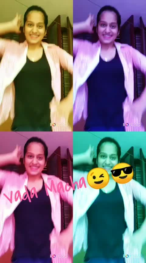 Vada Macha😍😎#desi-dance #featureme #featurethisvideo #roposo-beats #talent #tamilsongs