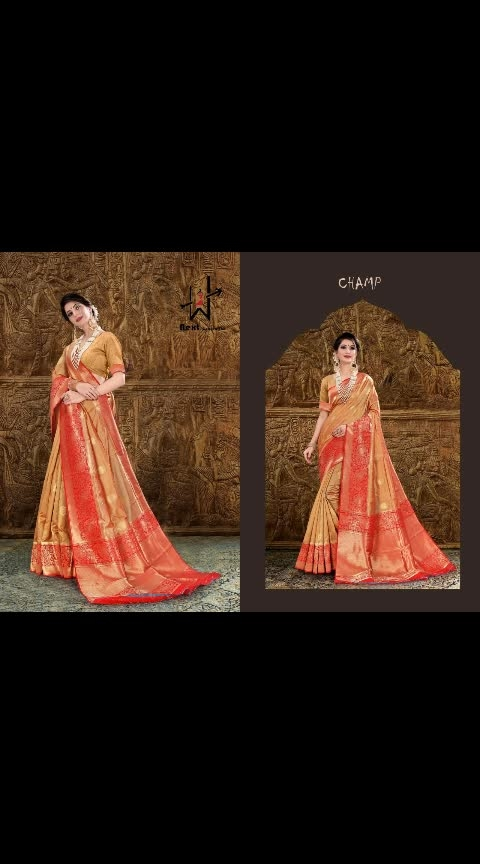 💓 _* Newly Launched Designer  Silk Collection . Heavy Silk Fabric Which Gives You Rich Look_  🍄 Catalog - *#Champ*  🌏 Price- *1625 *+Shiping cost Extra   🔮 Fabric - *Heavy Silk*  🎏 Saree Length - *6.3 Meter Cut with Blouse*  *Single Available*  *Book Your Order Soon*🛍  *Premium Quality*  *Ready to Dispatch*
