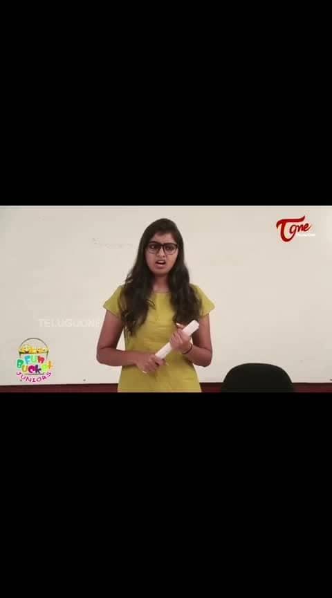 FunBucketJuniors#TeluguOne#FunBucketJuniorsJokes  Fun Bucket JUNIORS | Episode 96 | Kids Funny Videos | Comedy Web Series | By Nagendra K | TeluguOne