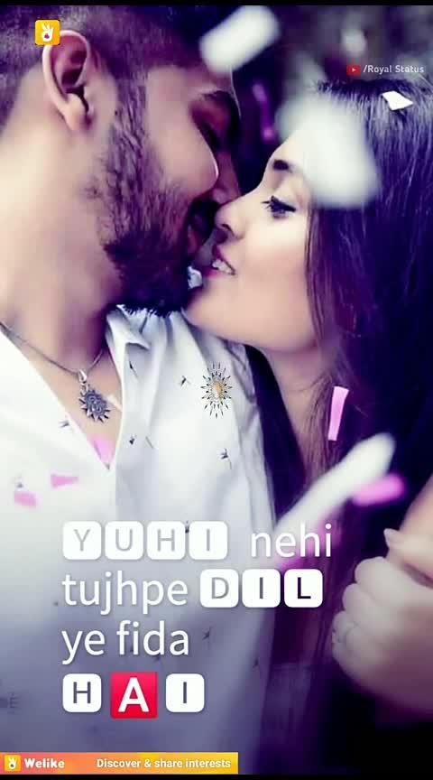 #dilmerachahe 💕💕,#roposo-beats ,#roposo-foryou ,#wao ,#look ,#desi-patakha ,#sainisahab ,#filmistaan ,#roposo-ha-ha-ha ,#hahatv ,#killerlook ,#instafamous ,#roposo 😉😉💕💕