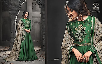 MAHIKAA COLLECTIONS LAUNCHES online selling of WOMEN FABRICS. BUY DIRECTLY FROM US USING PAYTM / BANK TRANSFER CONNECT WITH US AT info@mahikaa.in or WhatsApp : 7984456745.  PARTYWEAR FLOOR LENGTH DRESS HEAVY EMBROIDERY ON  KURTA N DUPATTA  #clothing #fashion #style #clothes #streetwear #tshirt #art #apparel #fashionblogger #love #ootd #clothingbrand #model #streetstyle #brand #like #outfit #design #photography #shoes #instagood #follow #shopping #hiphop #clothingline #fashionista #music #dress