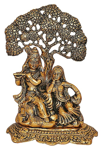 Msa Jewels 24K Gold Plated Oxidized Finish Radha Krishan Statue Exclusive Gifts For Diwali,New Year,House Warming, Wedding, Anniversary , Home Decor   Color:- Gold Material:- Aluminium Ideal for home decor and religious décor Product Dimensions:(LxWxH):- 25 cm x 2 cm x 20 cm Material:- Aluminium Designer Products & Technique: Casting Work  https://amzn.to/2VR9hfK